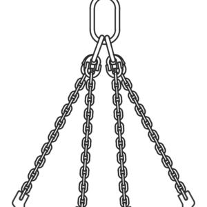 Eslinga de cadena T.QOS